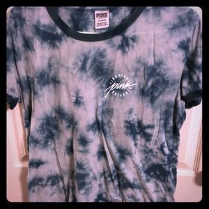 💕3 for $12💕 Tie Dye Green PINK T-SHIRT